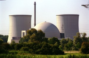 Atomic plant reactor Biblis (Germany)